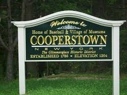 Cooperstown Sign